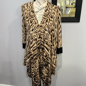 Chico's Animal Print sweater